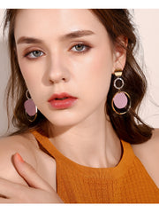 Exaggerated Circle Female Earrings - Prime Adore