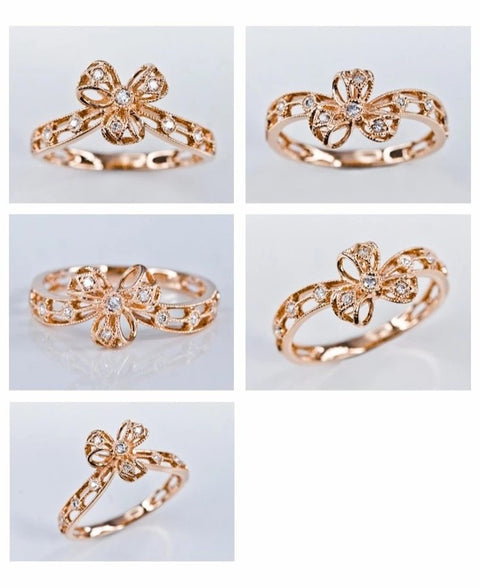 Dainty Ribbon Ring - Prime Adore
