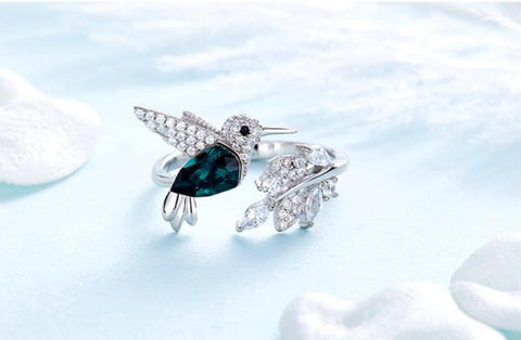 Bird's Branch Adjustable Ring - Prime Adore