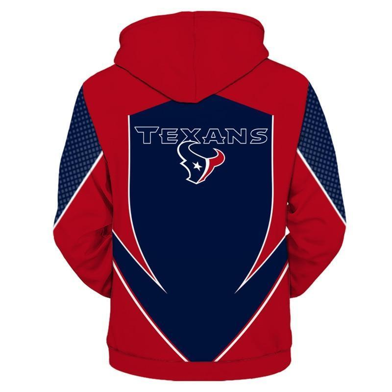 Houston Texans Hoodie 3D Sweatshirt Custom Jacket Pullover