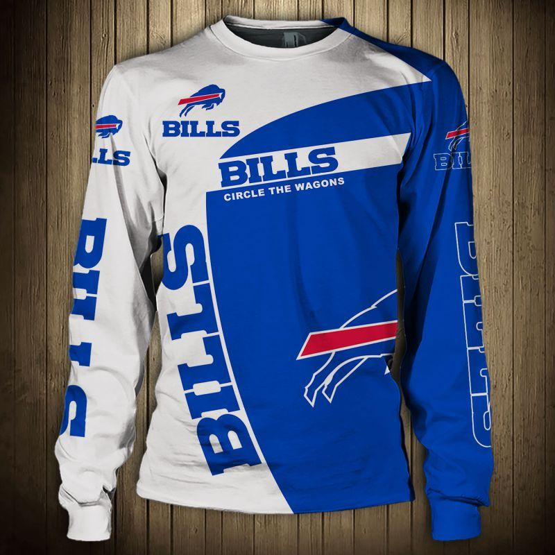 Buffalo Bills Crewneck Sweatshirt 3D Long Sleeve