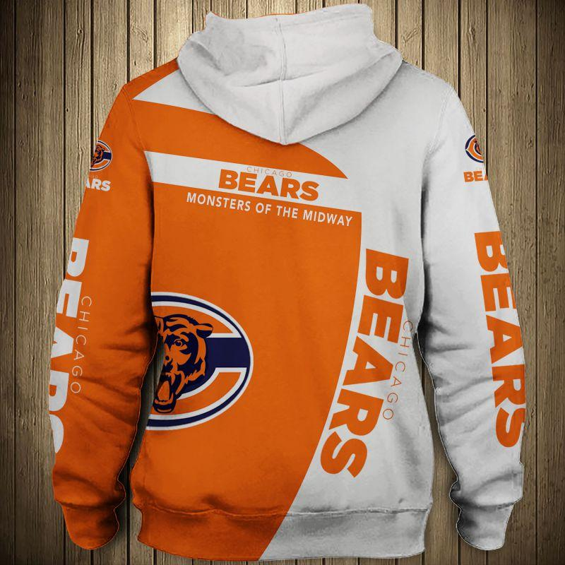 Chicago Bears Hoodies Sale With Hooded Long Sleeve