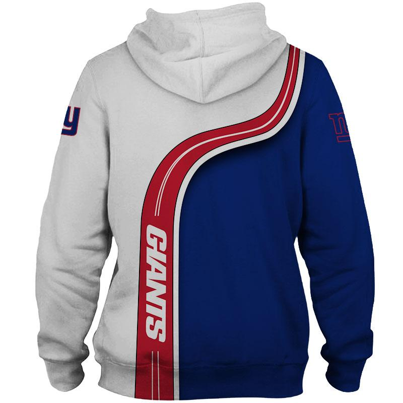 New York Giants Pullover Hoodies 3D Highway Giants