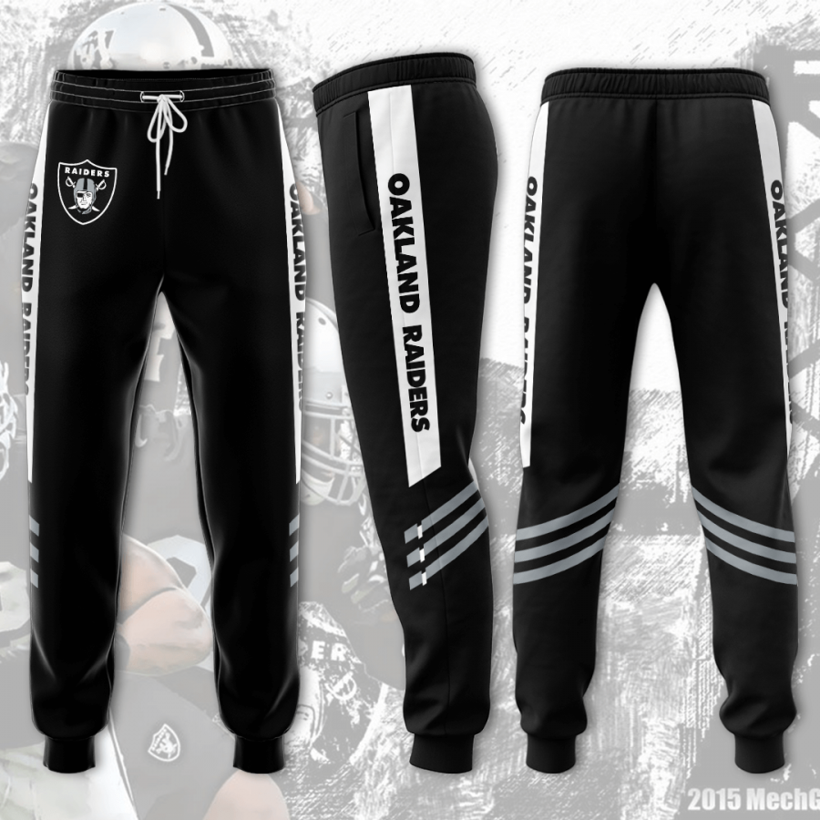 Oakland Raiders 3D Printed pocket Sweatpant