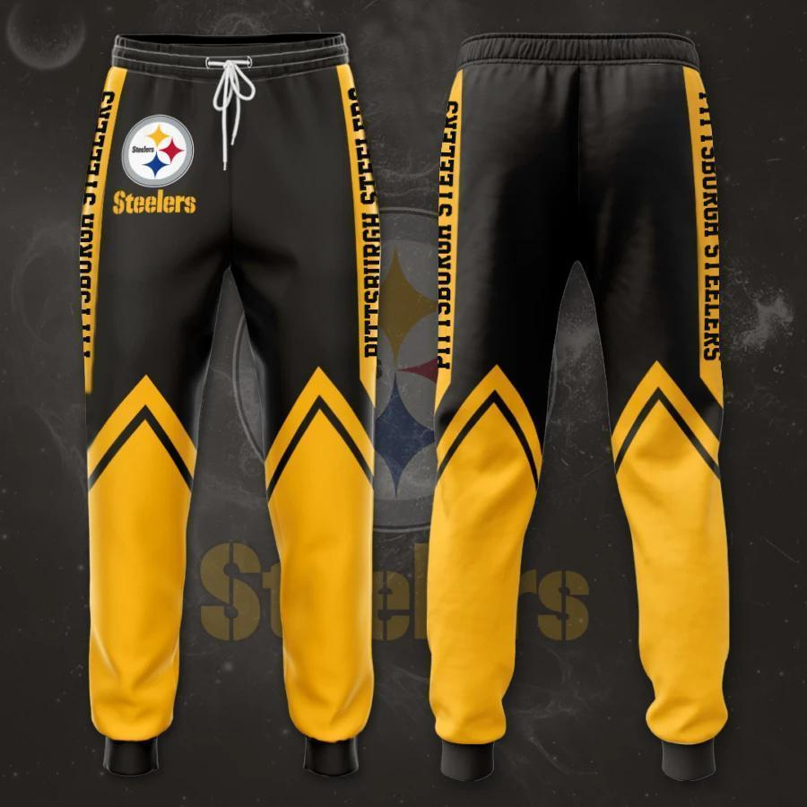 Pittsburgh Steelers 3D Printed pocket Sweatpant