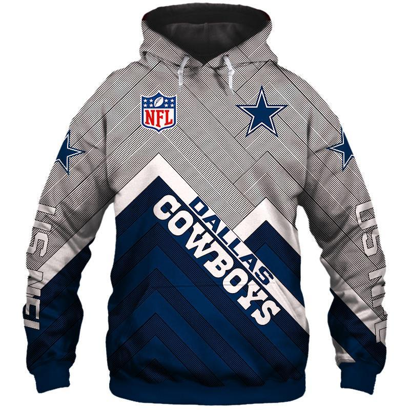 Dallas Cowboys Hoodies Mens 3D Sweatshirt Long Sleeve