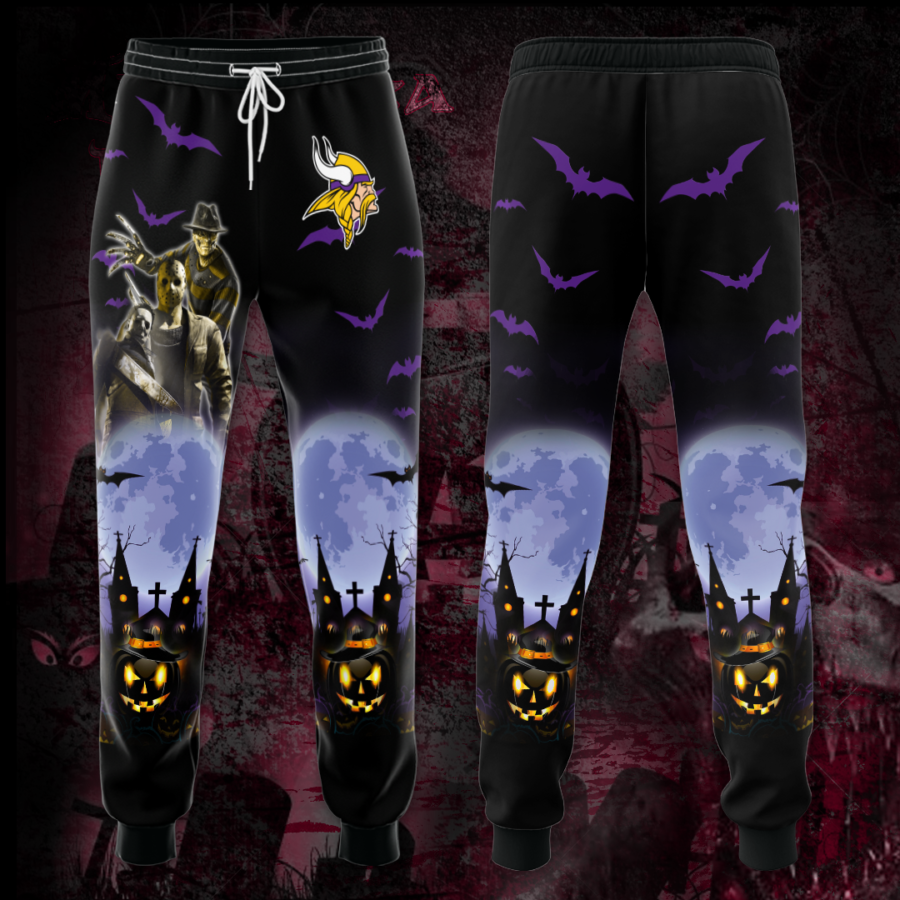 Minnesota Vikings 3D Printed pocket Sweatpant