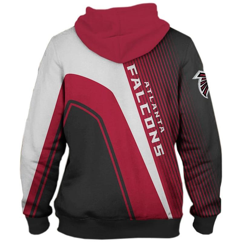 NFL Hoodies Atlanta Falcons Hoodies Cheap 3D Sweatshirt Pullover