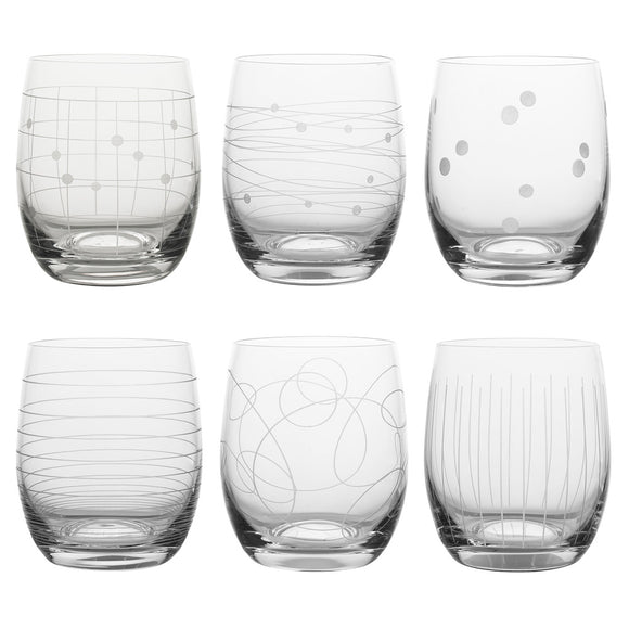 Set 6 vasos Graphic