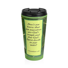 Load image into Gallery viewer, Stainless Steel Travel Mug - Inspirational Scripture