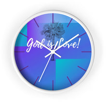 Load image into Gallery viewer, Wall clock: God is Love