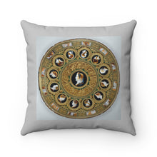 Load image into Gallery viewer, Spun Polyester Square Pillow: Inspired by Antiquity