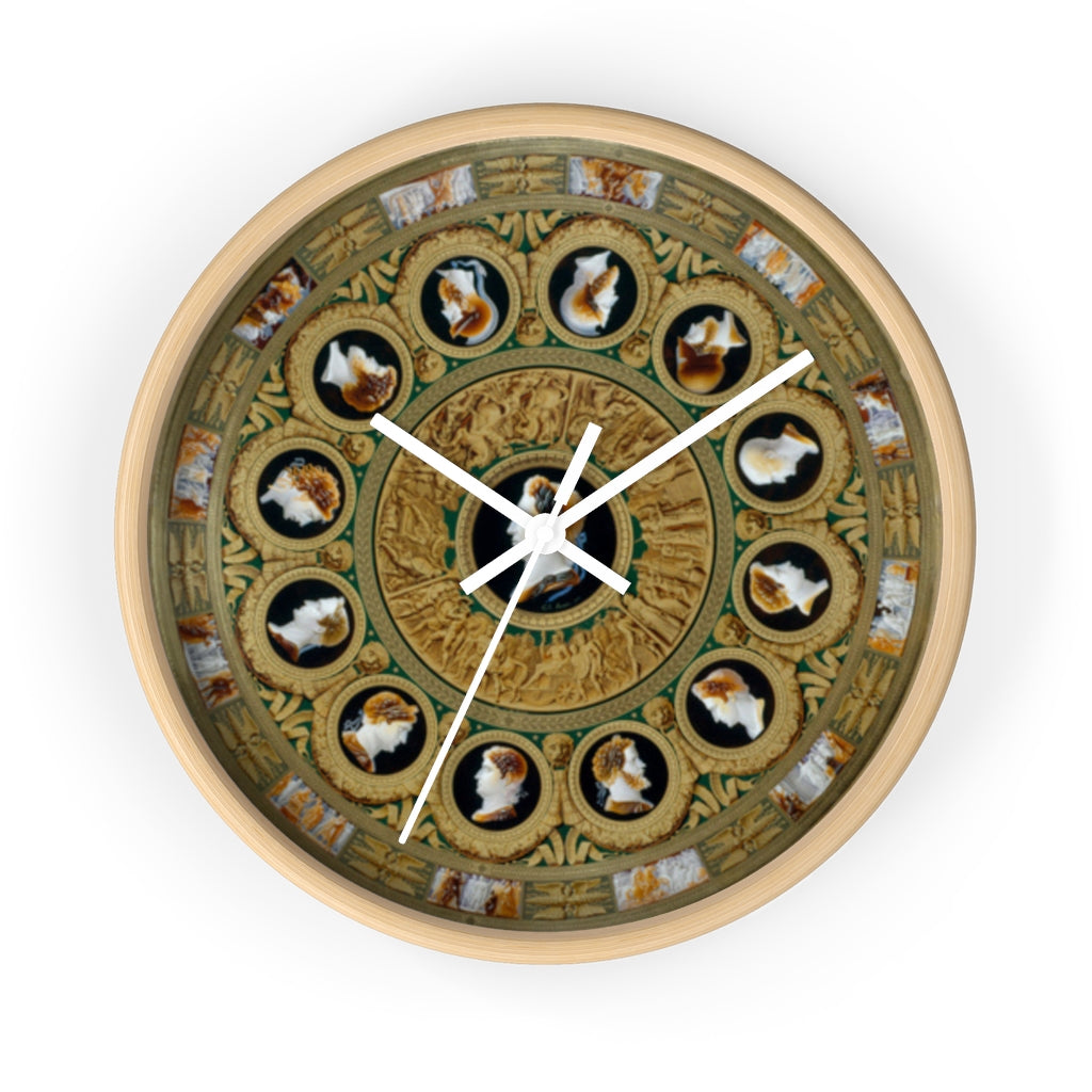 Wall clock: The Inspiration of Antiquity