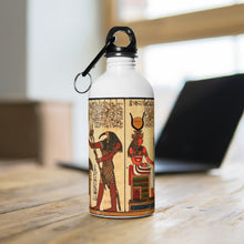 Load image into Gallery viewer, Stainless Steel Water Bottle: Ancient Egypt and Inspirational Antiquity