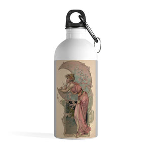 Stainless Steel Water Bottle: Art Nouveau and Celebrating Antiquity