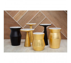 Lino Small Gold Drum