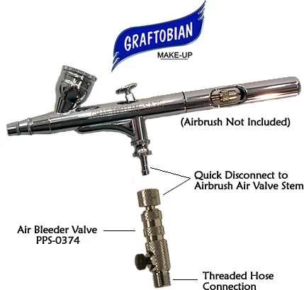 Air Bleeder Valve for Graftobian SA 35 Airbrush