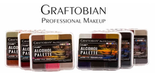 Load image into Gallery viewer, Graftobian FX Aire Alcohol Palette
