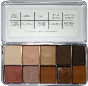 Skin Illustrator Rob Benevides Custom Collection Flesh Tone Palette