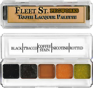 Fleet Street Pegworks Tooth Lacquer Palette