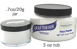 Graftobian Translucent Colorless Loose Face Powder