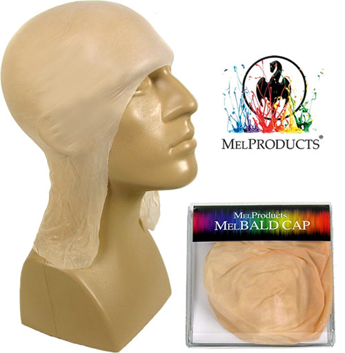 MEL Products Plastic Bald Cap in 4 Sizes