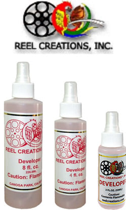 REEL CREATIONS REEL Alcohol Based Developer with Atomizer