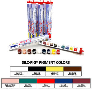 Smooth On Silc Pig Silicone Pigments Color Sampler Pack