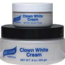 Graftobian Clown White Creme Theatrical Makeup