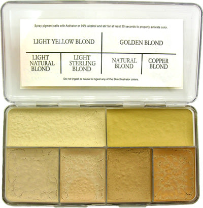 Skin Illustrator Warm Blonde Palette