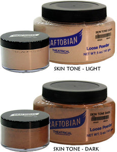 Graftobian Translucent Skin Tone Loose Face Powder