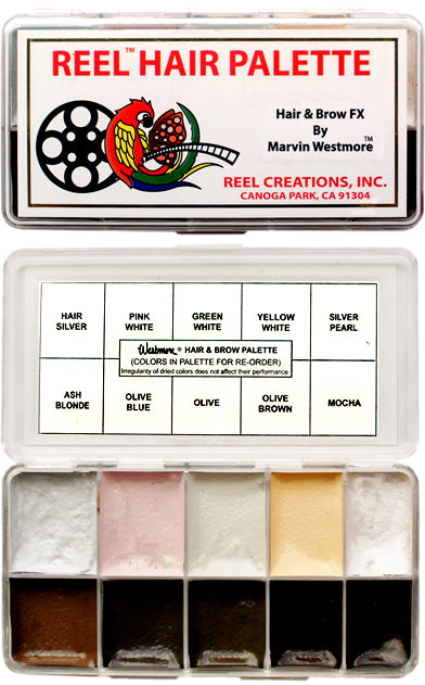 Marvin Westmore Hair and Brow FX Palette, by REEL Creations