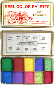 REEL CREATIONS Reel Hot Shimmers Palette