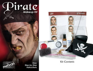 Pirate Character Makeup Kit by Mehron