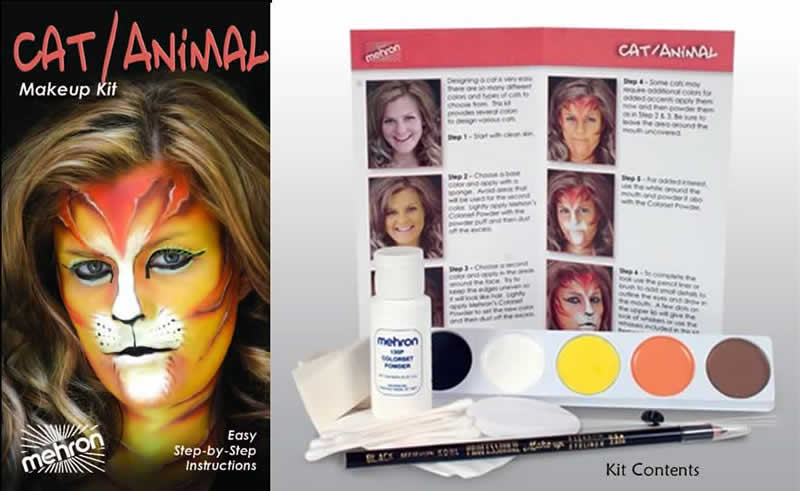 Cat Animal Character Kit by Mehron