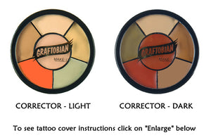 Graftobian Corrector Neutralizer and Tattoo Cover Wheel
