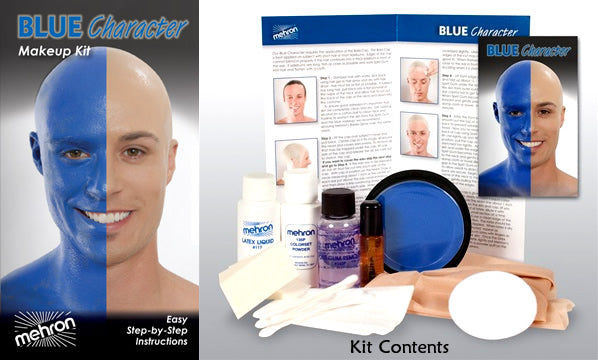 Blue Character Kit by Mehron