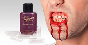 Mehron Stage Blood with Capsules