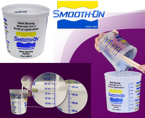 Smooth On Mixing and Measuring Container, 165 oz Size