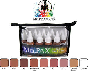 Mel Products MelPAX Kit No 6 Dark Flesh Tones
