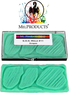 MEL Products SOS Mold 11 Scrapes