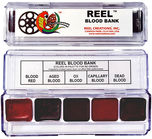 REEL CREATIONS Mini 5 Blood Bank Palette
