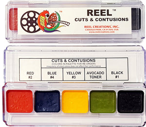 REEL CREATIONS Mini 5 Cuts and Contusions Palette
