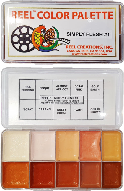 REEL CREATIONS Simply Flesh No 1 Palette