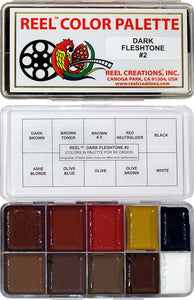REEL CREATIONS™ Dark Fleshtone No 2 Palette