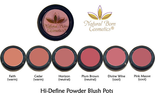 Natural Born Cosmetics Hi Define Powder Blush