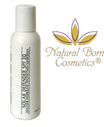 Natural Born Cosmetics Solar Defender SPF 30 Sunscreen
