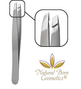 Natural Born Cosmetics Artist Precision Slant Tip Tweezer