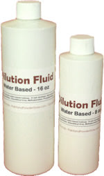 Paint and Powder Cosmetics Dilution Fluid, Water Based