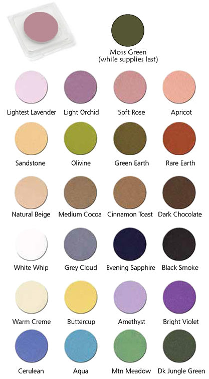 Graftobian UltraSilk Matte Eye Shadow Palette Refills